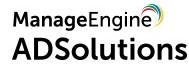 ManageEngine ADSolutions