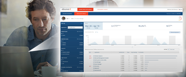 Monitora il comportamento degli utenti con ObserveIT