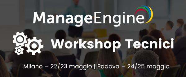 ManageEngine Workshop Tecnici