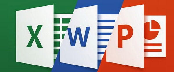 Microsoft Excel, Microsoft Word, Microsoft Powerpoint