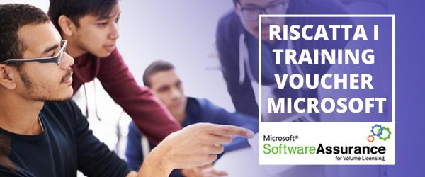 Riscatta i Training Voucher Microsoft
