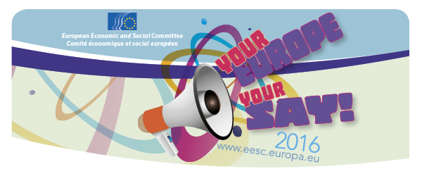 Your Europe Your Say 2016 logo