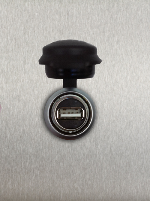 GRANULDISK USB port
