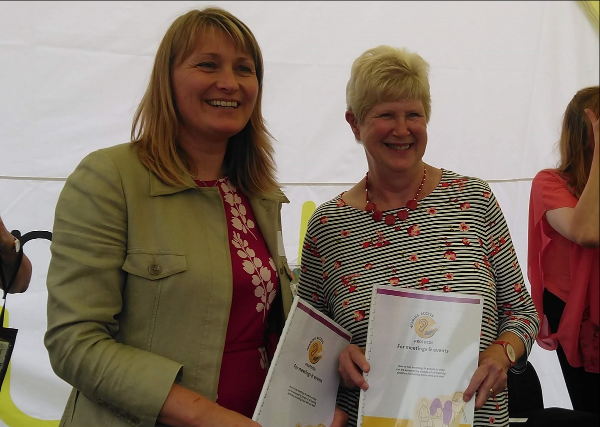 May Wood  attended launch of new protocols for better access to meetings and events