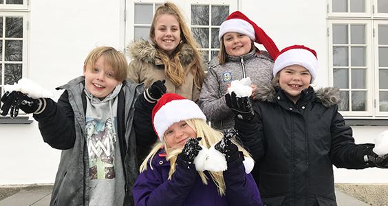 Se børnenes julehilsner