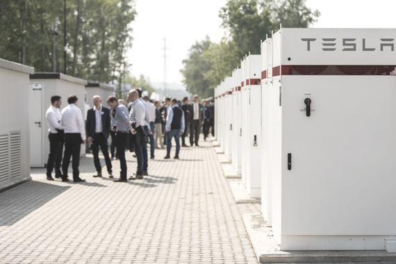 Opening batterijproject Terhills