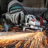METABO Angle Grinder: More Power. In All Classes. 3