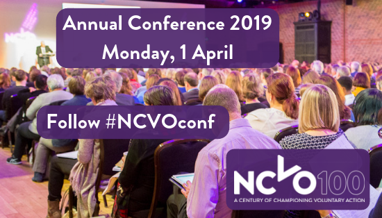 NCVO Annual Conference Banner
