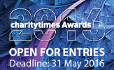 Charity Times Awards 2016 banner