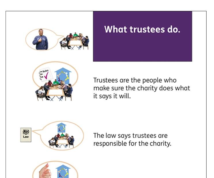 Easy read trustee guide