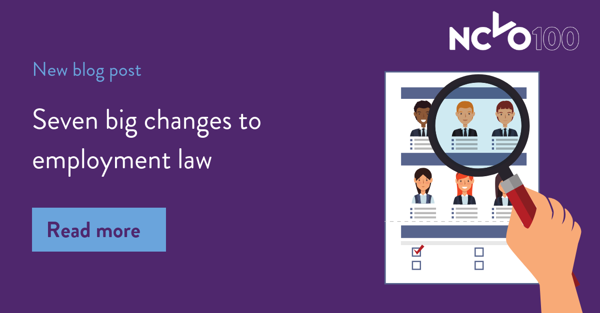 Seven big changes to employment law