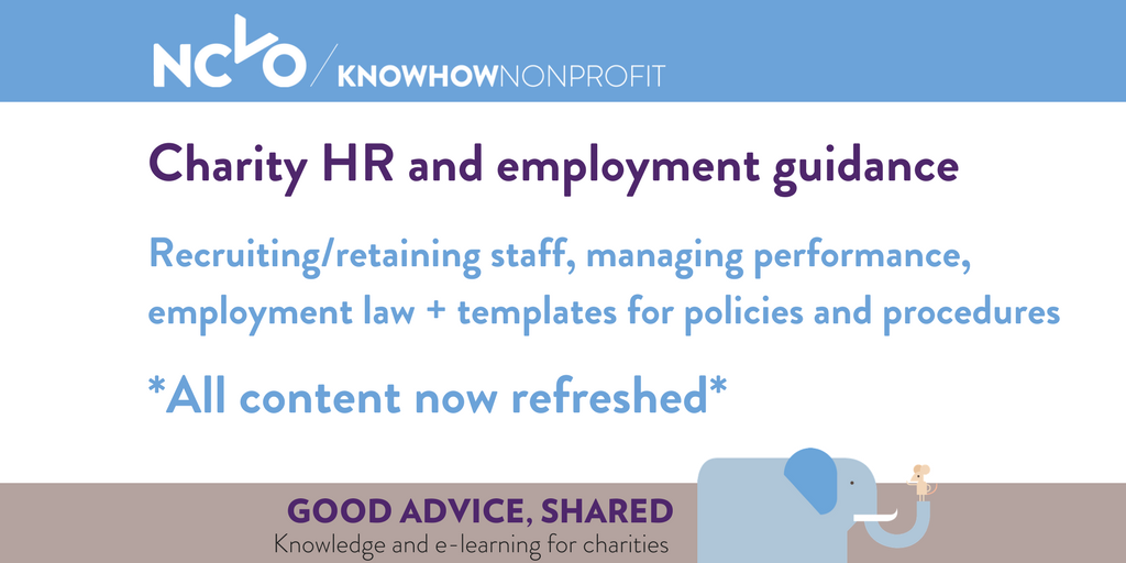 Updated HR guidance